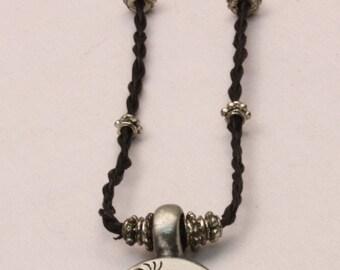 Kokopelli Leather Necklace
