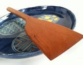 Truly Hand Crafted Reclaimed CHERRY Spatula Made in a mountain town in UTAH
