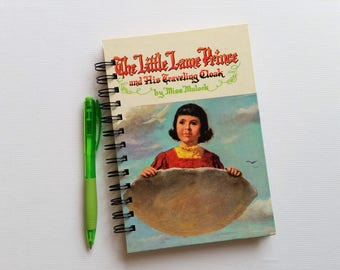 The Little Lame Prince, Recycled Book Journal, Notebook