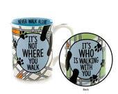 Dog walker mug, gift for pet sitter, gift for dog walker, dog lover, mug for dog owner, gifts under 20