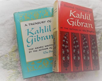 A Pair of Kahlil Gibran Vintage Books order today shipped today!