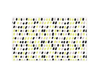 Speckled Way - Little Notes - Set of 10 Enclosure Cards, Envelopes, Gold Closure Stickers - Dots - Mid Century - Pattern - (LN406)