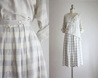 linen stripe set