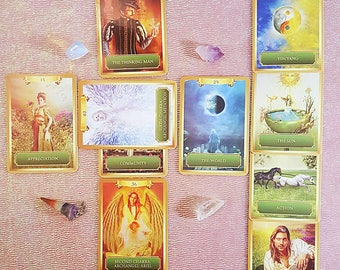 Tarot Reading Energy Oracle Cards Psychic Reading  Pendulum Spiritual Guidance Via Email Same Day Fortune Telling 10 Card Spread Life Love