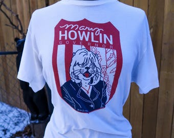 Mary Howlin t-shirt by Boo Science