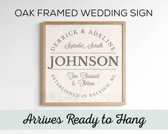 Custom Wedding Gift. Engagement Gifts. Wedding Gift Personalized. Wedding Signs. Anniversary Gift. Bridal Shower Decorations Gift Sign Art