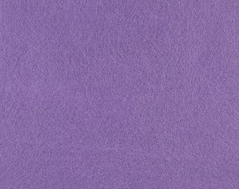 "Violet Acrylic Craft Felt by the Yard - 1/16"" Thick, Available Plain (72"" Wide) or with a Peel-and-Stick Adhesive Backing (36"" Wide)"