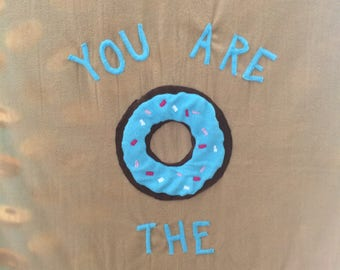 Donut Fleece Blanket - You are the Sprinkles