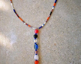 Necklace, tube of color