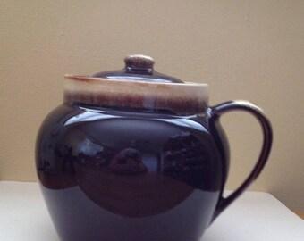 Sale Pfaltzgraff  Brown Drip Bean Pot