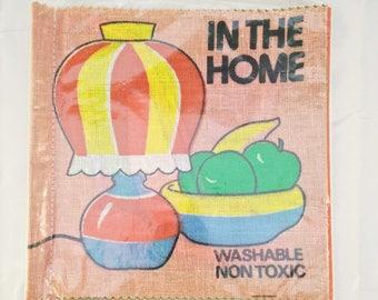 Vintage Cloth Book, SP cloth/rag book, vintage rag book, new old stock, cloth book, rag book, home, vintage child book, cloth child book