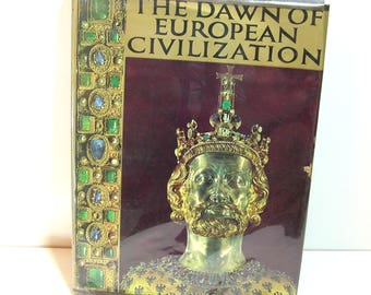The Dawn of European Civilization, The Dark Ages edited by David Talbot Rice, Vintage Book