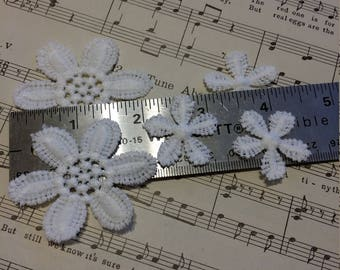 5 pc. Mini Daisy Flower set