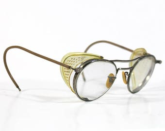 Vintage Willson Safety Glasses with Original Case