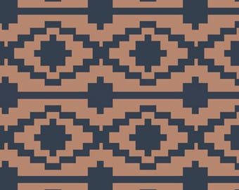 Art Gallery - Heritage Collection - RAYON Rivercane in Terracotta