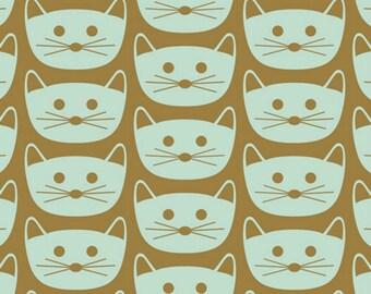 Art Gallery - Blush Collection by Dana Willard - Cat Nap in Mint
