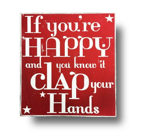If you 39 re happy and you know it clap your hands 19x21 for If you re happy and you know it coloring page