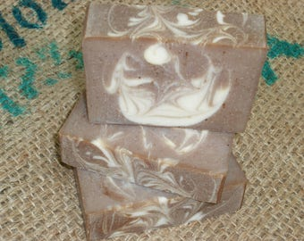 Tobacco Leaf and Amber Soap / Soap for Men / Artisan Soap / Cold Process Handmade Soap