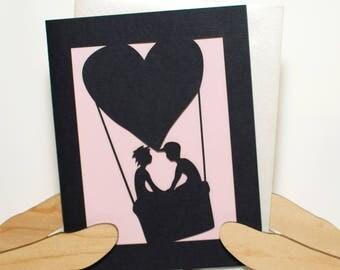 Love Balloon Card