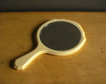Fairest of Them All - Vintage Hand Mirror - Handheld Mirror