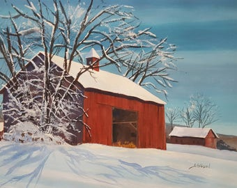 Godwin's Winter Barn