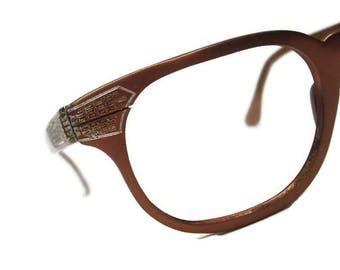 Vintage 50s Horn Rim Eyeglasses Frame Tura