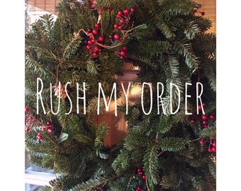 Rush my order- priority shipping- move to the hed of the line- made and shipped within 3 days