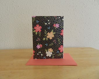 Floral Blank Card