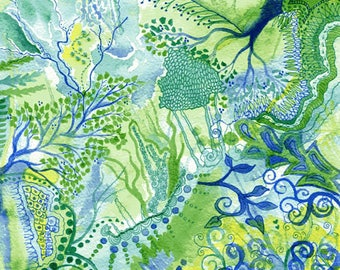 Growth - Original Watercolour painting on paper