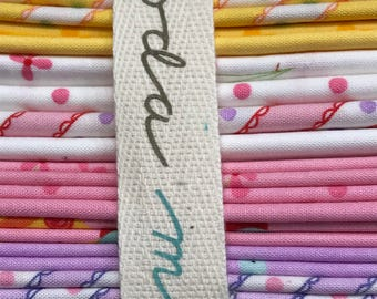 Celebrations by Bunnyhill for Moda 17pc Fat Quarter bundle OOP