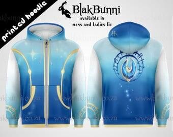 PRINTED HOODIE - Mahou shoujo Magical girl Sayaka cosplay inspired hoodie