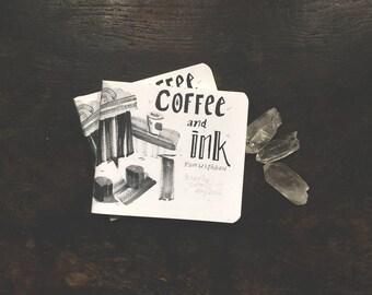 Coffee & Ink - Hourly comics day 2016 - mini zine - comic