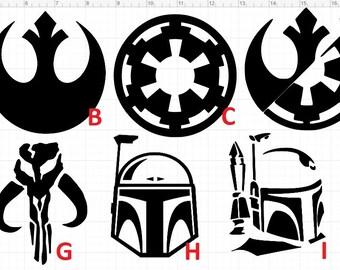 Star Wars Outdoor Vinyl Decal