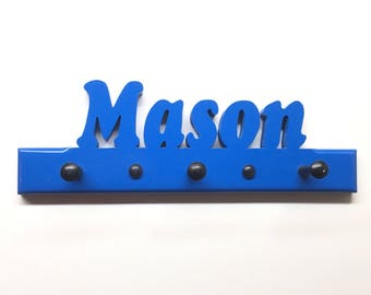 Personalized Children's Coat or Hat Rack