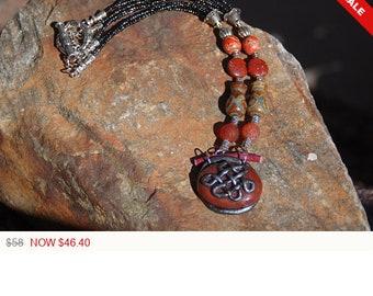 "Tibetan Necklace - ""Endless Wisdom"""