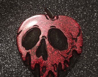 Red Poison Apple Brooch