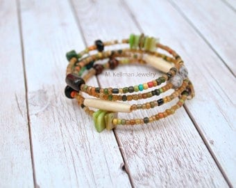 Jurema Bracelet, Adjustable bracelet, Earthy jewelry