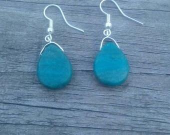 Calsilica French Hook Earrings