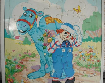 Raggedy Andy and Raggedy Camel Puzzle