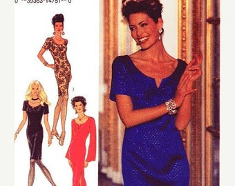 On Sale Style Dress Pattern 2376 -  Misses' Evening Dresses in Three Variations - Sz 8/10/12/14/16/18