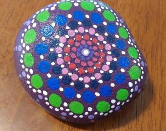 Round Mandala Stone