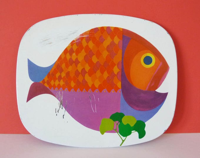 worcester ware fish placemat