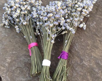Lavender wands - great for smudging the house - keep the car smelling fresh