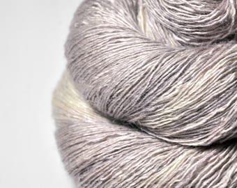 Banshee call OOAK - Tussah Silk Lace Yarn