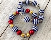 Cruise Nautical Inspired Beaded Bracelet Ready to Ship