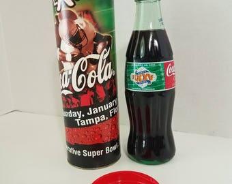 Coca-Cola Super Bowl Bottle, Tampa, Florida