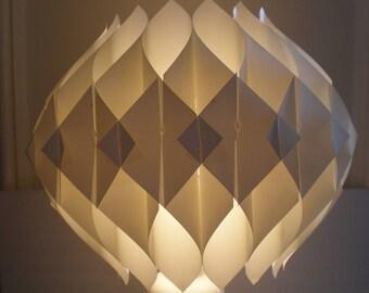 Mid Century Modern Origami Shade/Hanging Fixture