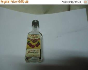 Back Open Sale Vintage Scheibel 20 ml Glass Bottle, collectable