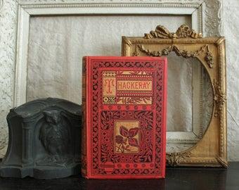 Thackeray's Poems Beautiful Gilt Illustrated 1884