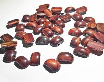 Red tiger eye beads